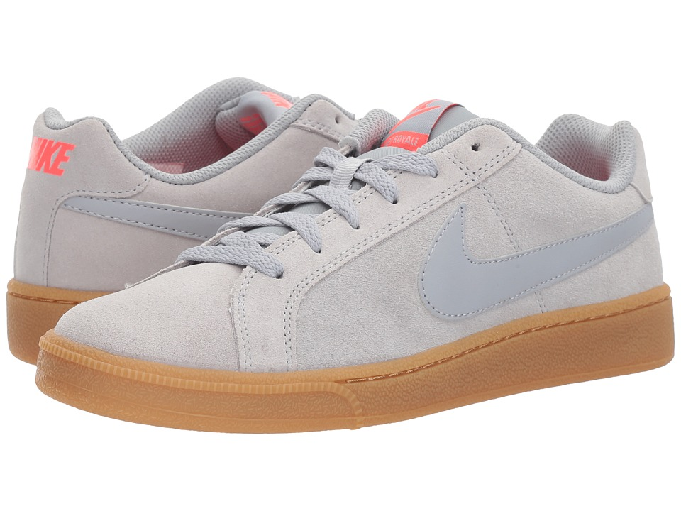 Nike Court Royale Suede (Wolf Grey/Wolf Grey/Solar Red) Men