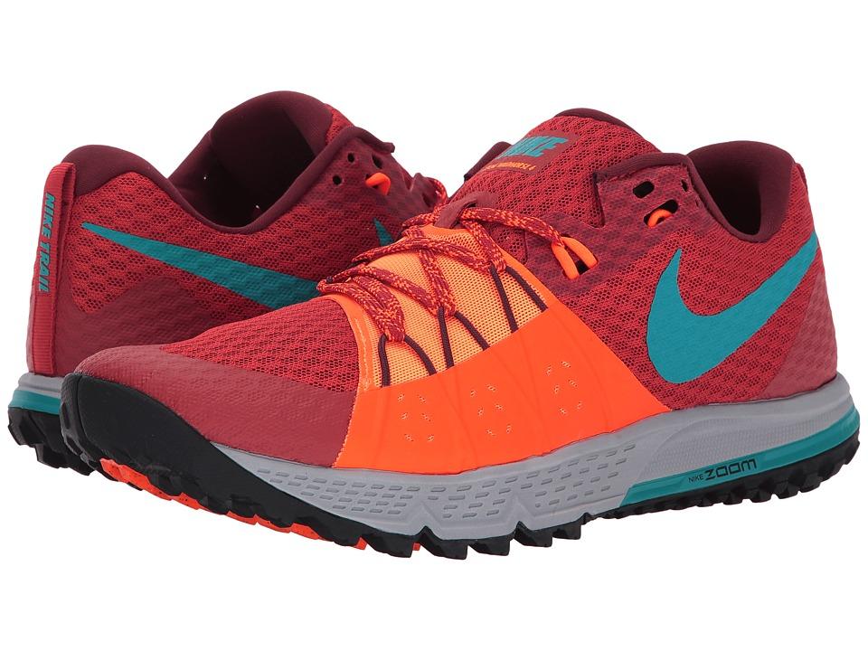 Nike Air Zoom Wildhorse 4 (Dragon Red/Turbo Green/Total Orange) Men