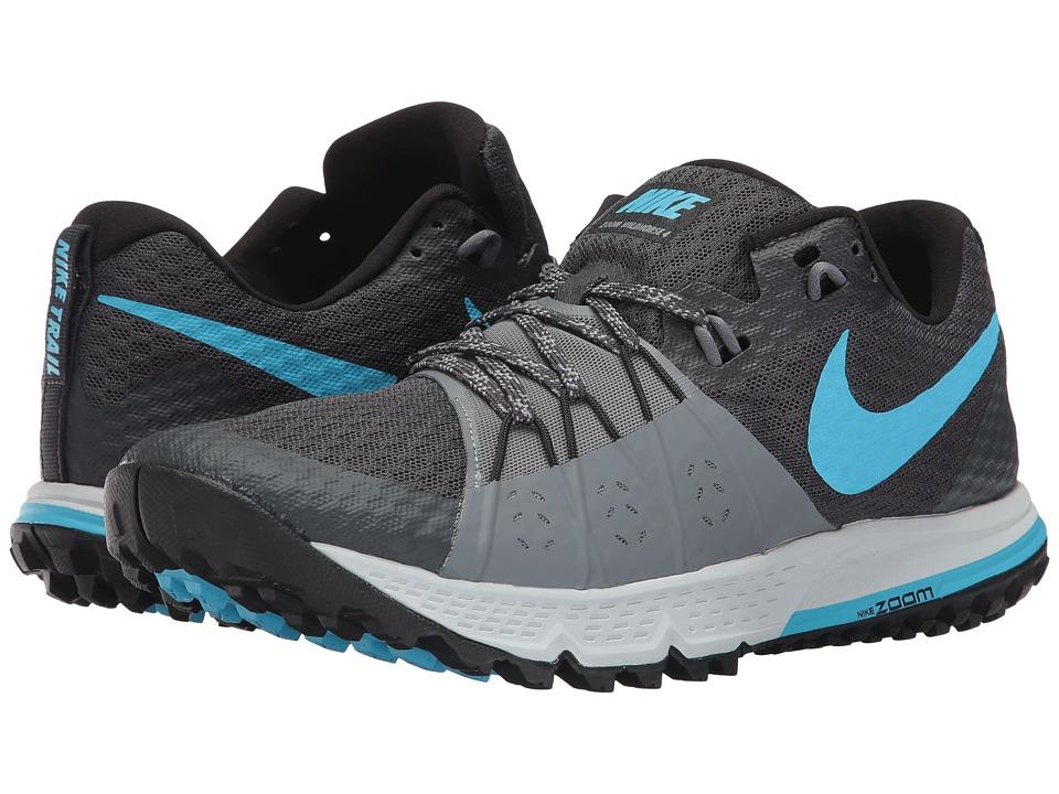 Nike Air Zoom Wildhorse 4 (Anthracite/Blue Fury/Cool Grey) Men