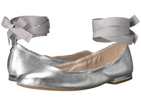 Sam Edelman Fallon - Soft Silver Metallic Sheep Leather