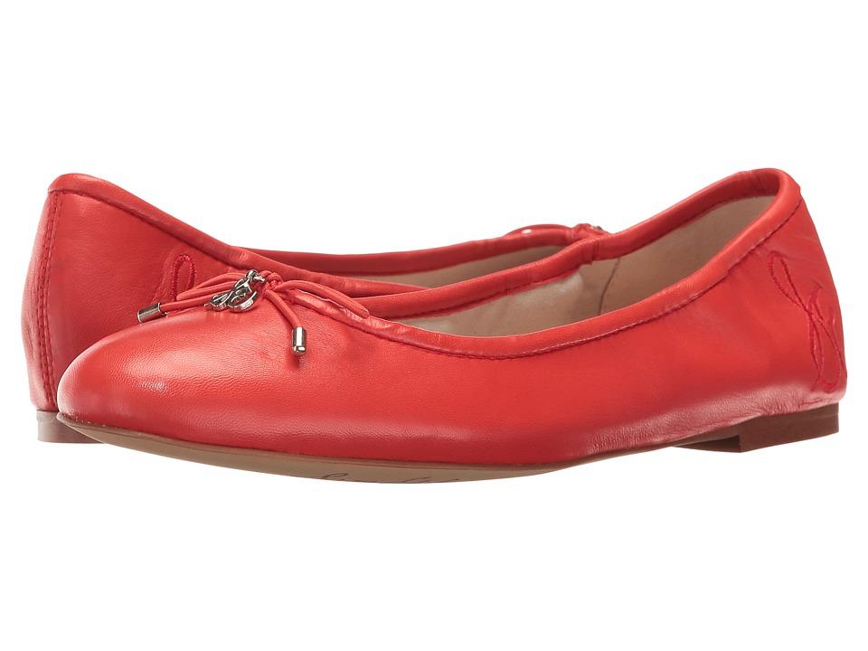 Sam Edelman Felicia (Havana Red Dress Nappa Leather) Women