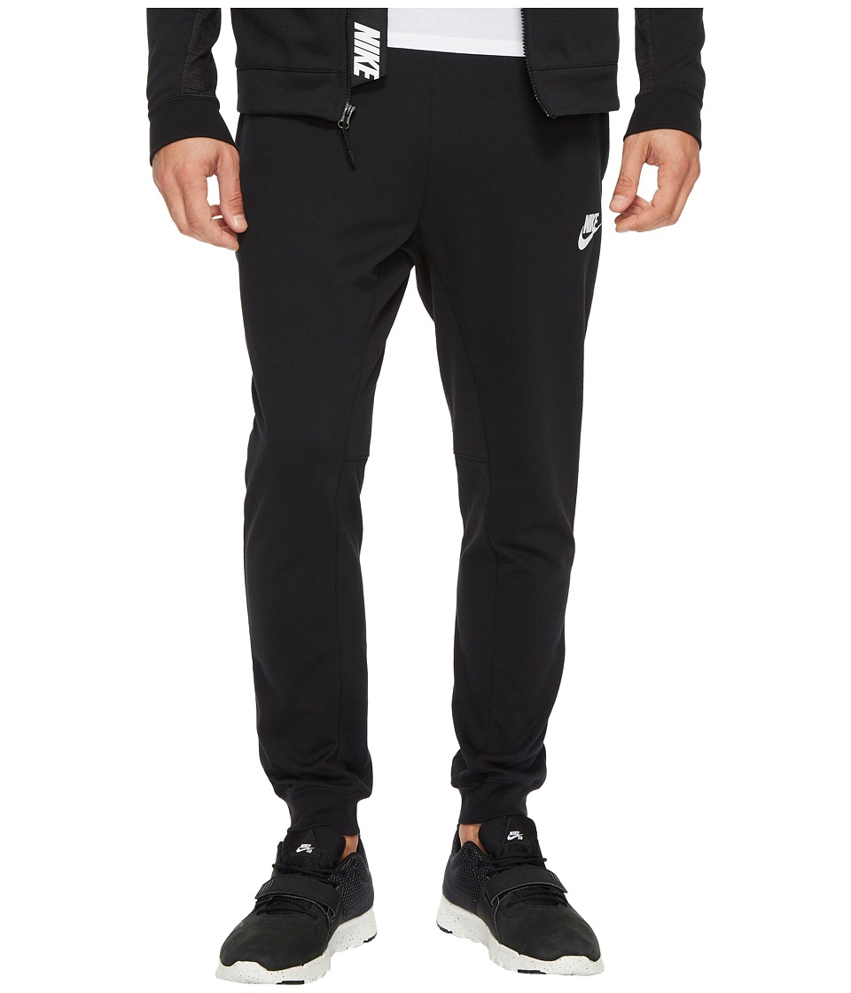 Nike Sportswear Advance 15 Jogger (Black/Black/White) Men
