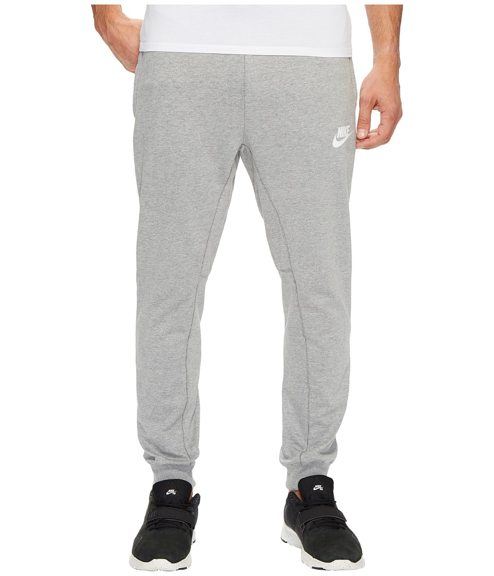 Nike Sportswear Advance 15 Jogger (Dark Grey Heather/Black/White) Men