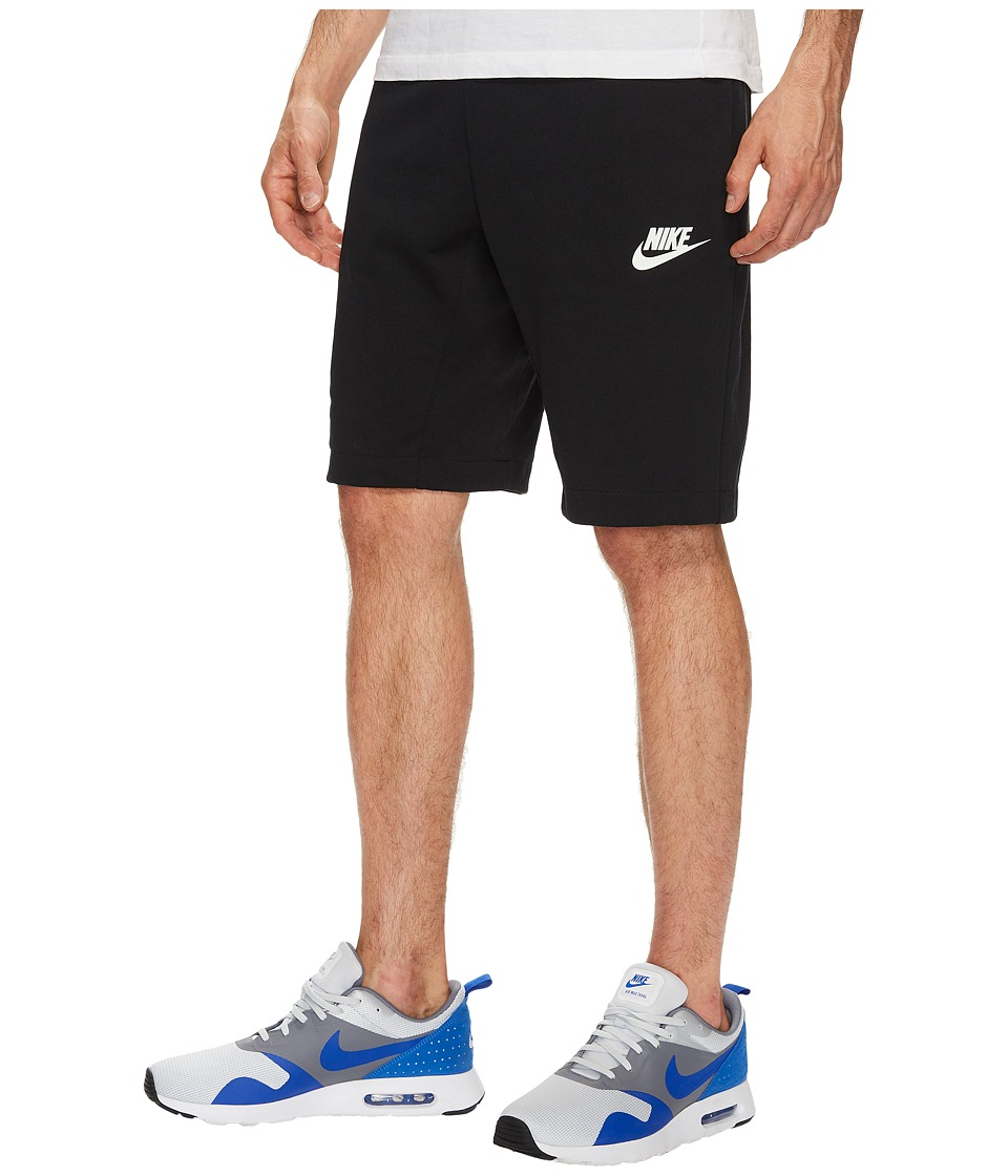 Nike Sportswear Advance 15 Short (Black/Black/White) Men