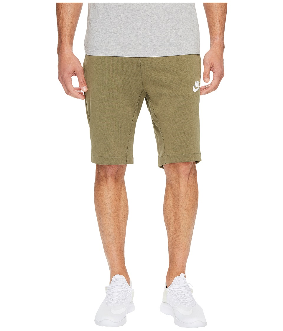 Nike Sportswear Advance 15 Short (Medium Olive/Black/White) Men