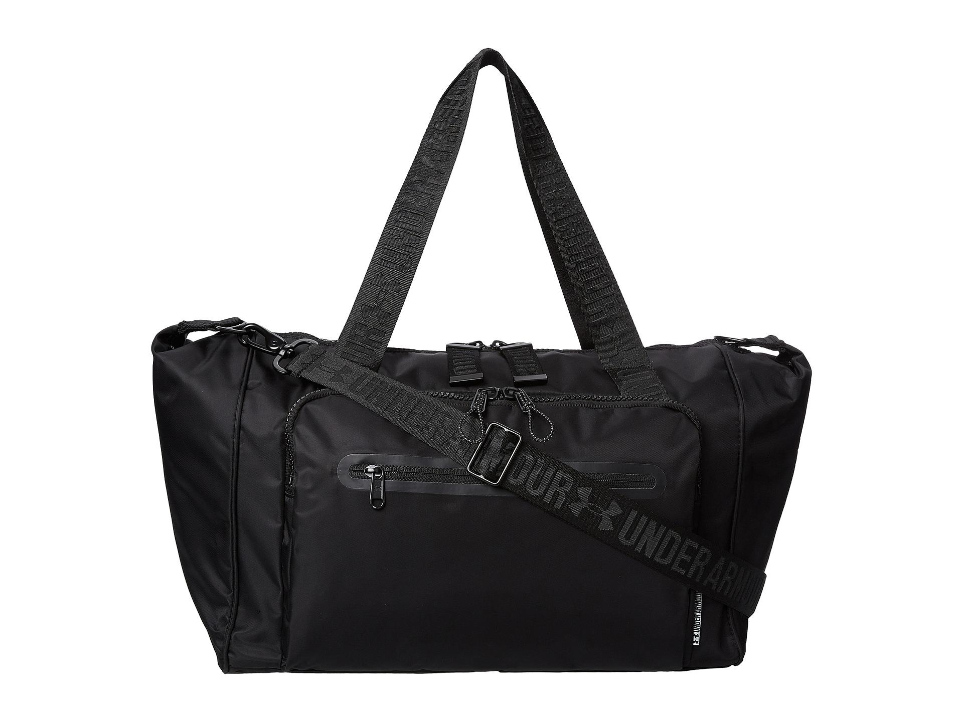 armour ua essentials duffel bag at zappos