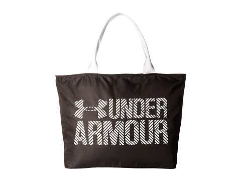 Under Armour UA Big Wordmark Tote 2.0 - Black/White/White