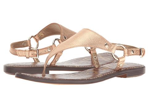 Sam Edelman Greta - Platinum Pink Tumbled Opal Metallic Leather