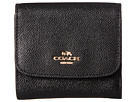 COACH - Crossgrain Leather Small Wallet