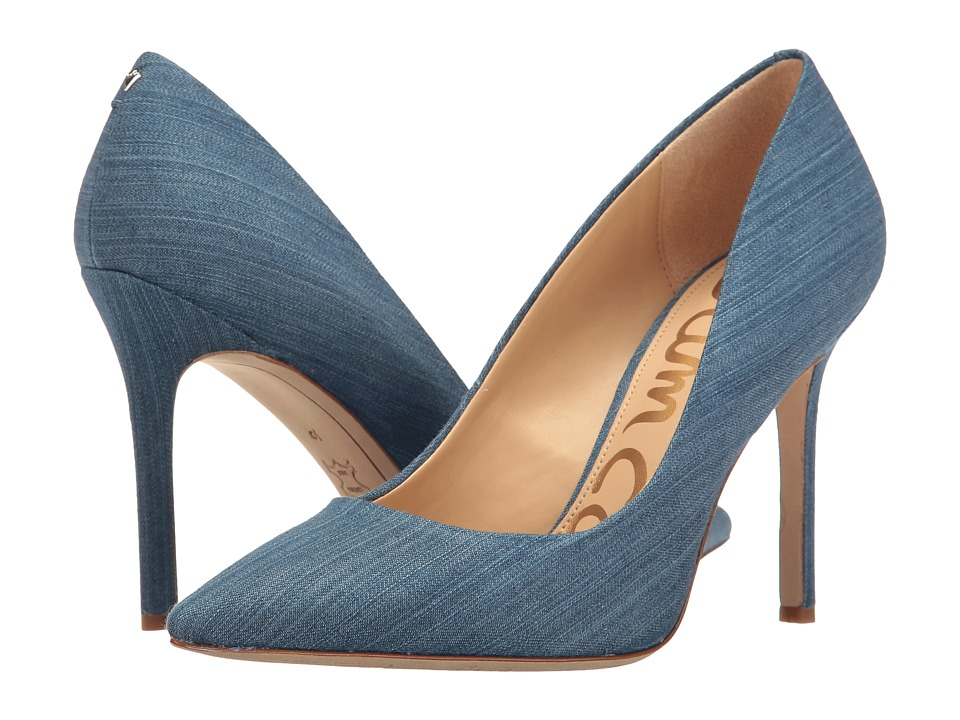Sam Edelman - Hazel (Mid Blue Light Denim Fabric) Women's Shoes