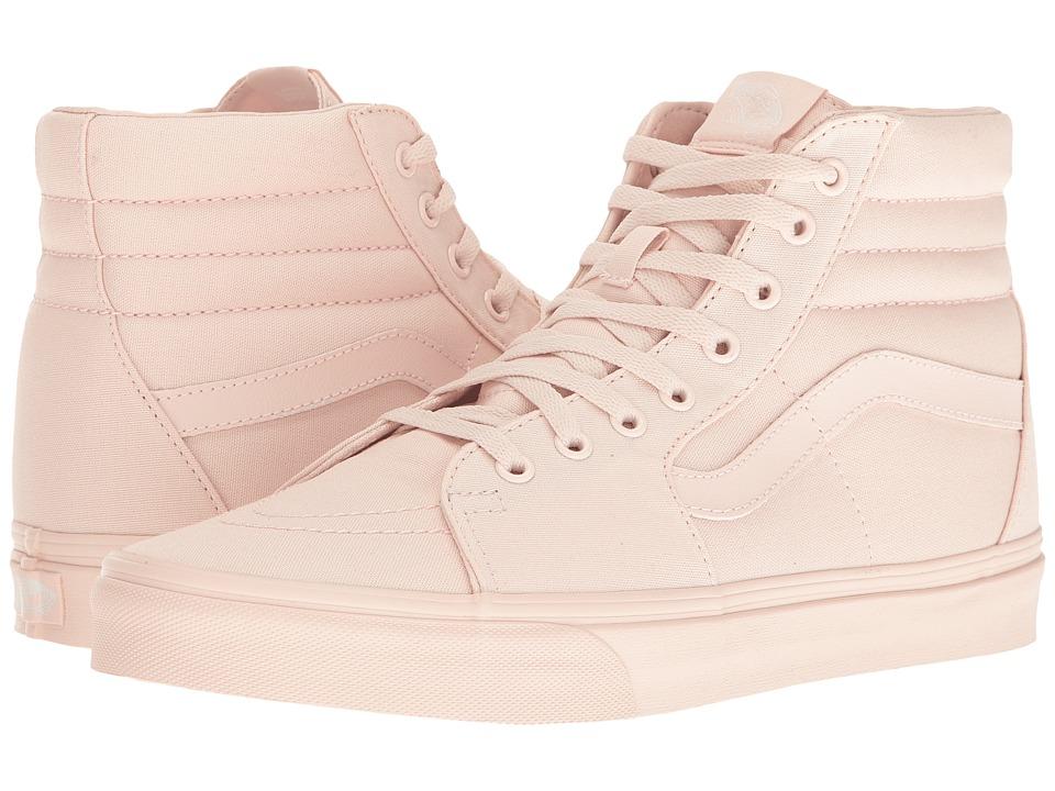 Vans - SK8-Hi ((Mono Canvas) Peach Blush) Skate Shoes