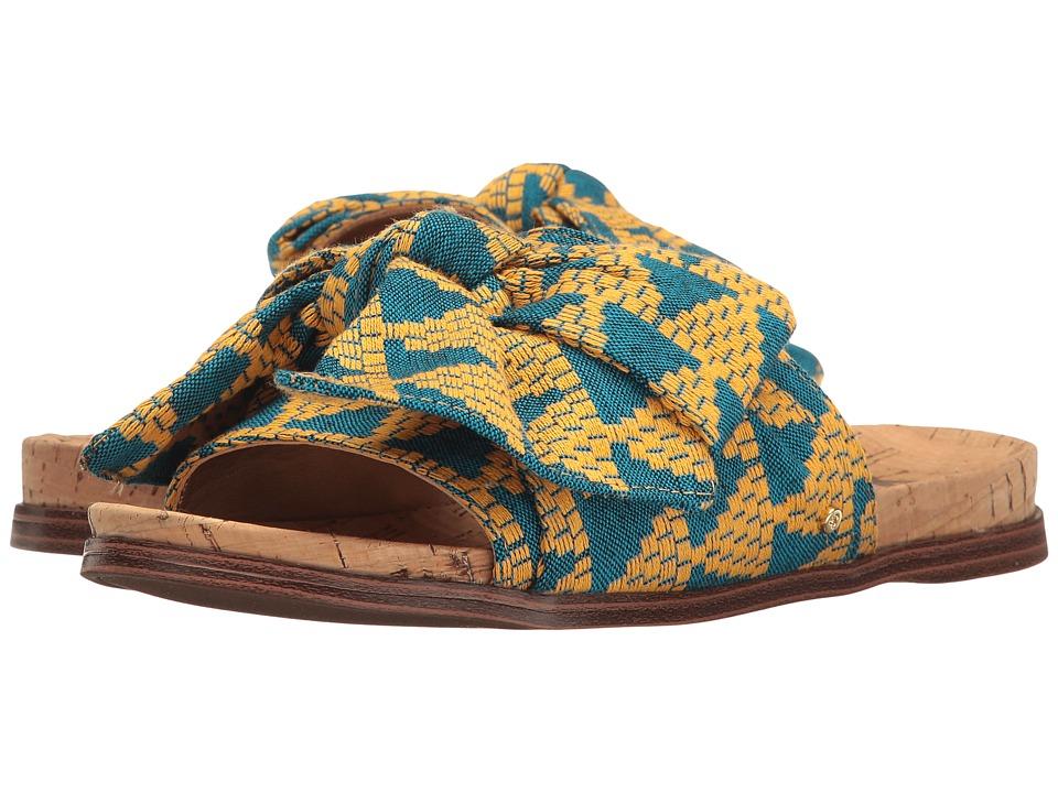Sam Edelman Henna (Yellow Multi Triangle Weave Fabric) Women