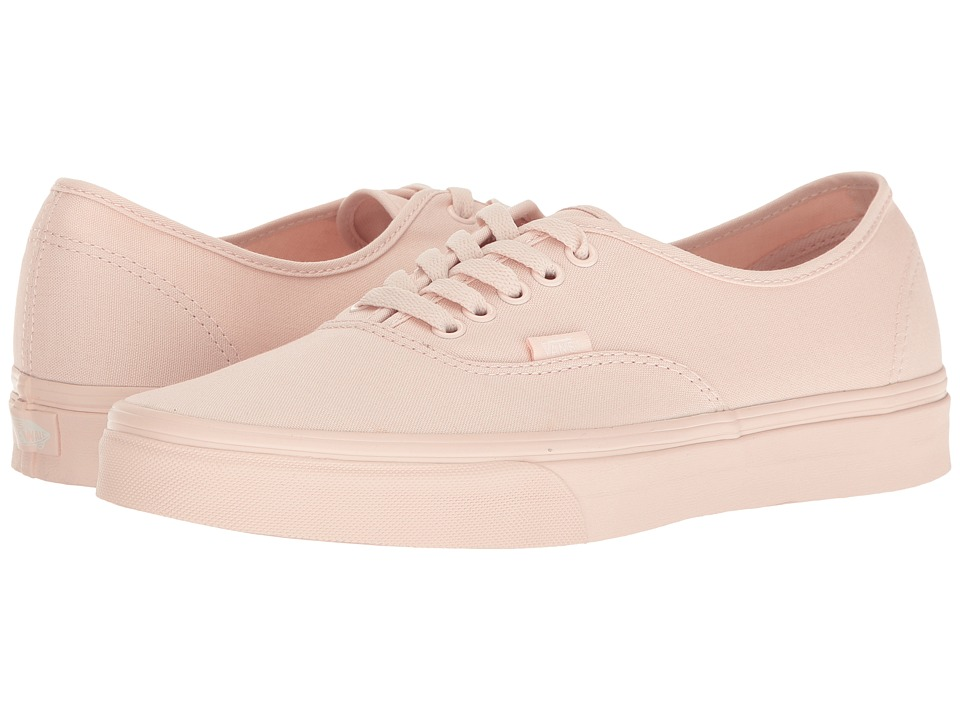 Vans Authentictm ((Mono Canvas) Peach Blush) Skate Shoes