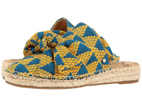 Sam Edelman Lynda - Yellow Multi Triangle Weave Fabric