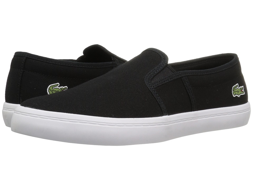 Lacoste Gazon BL 2 Canvas (Black) Women