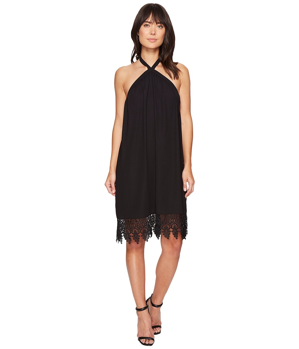 kensie Luxury Crepe Dress KS4K7818 (Black) Women