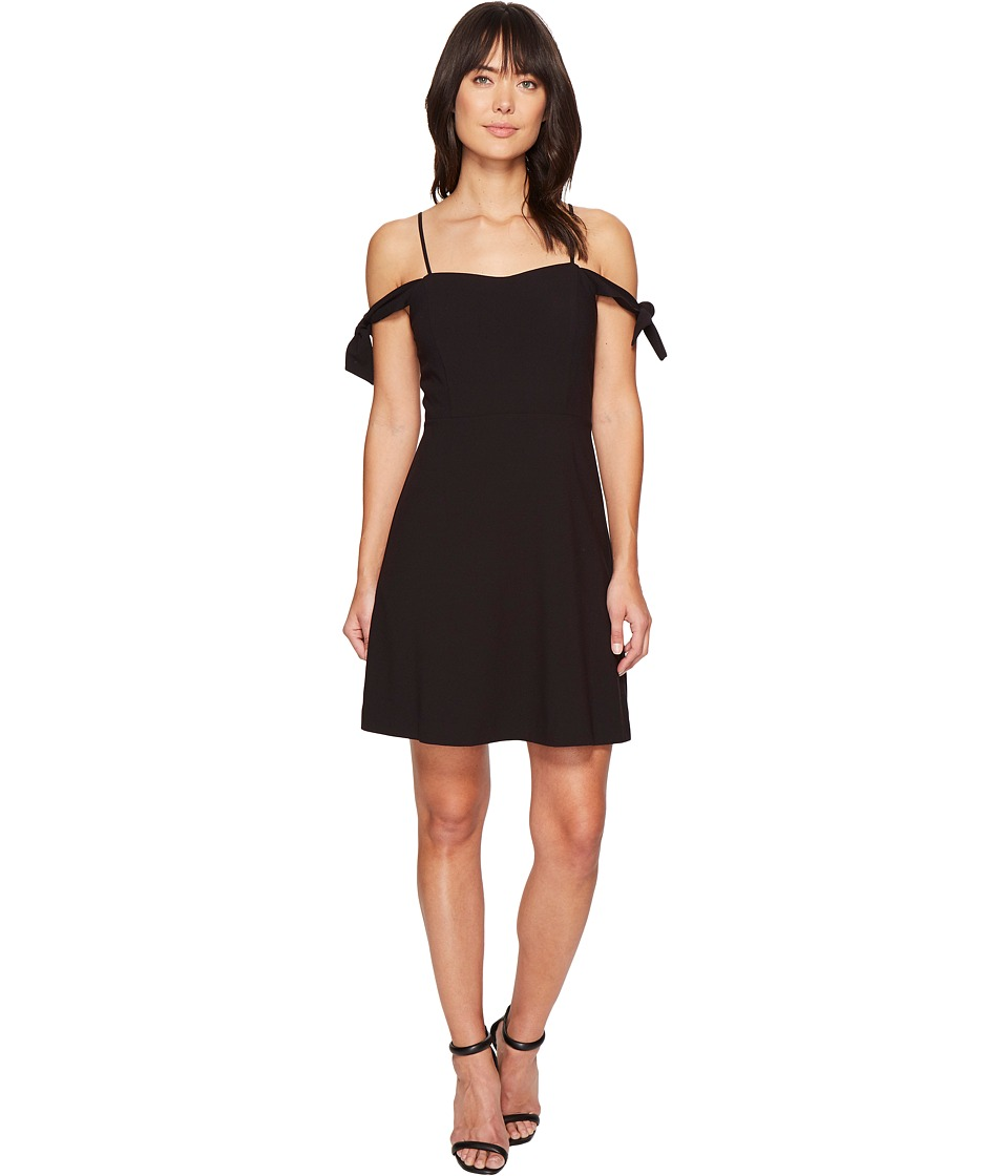kensie Stretch Crepe Dress KS4U7025 (Black) Women