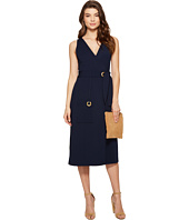 kensie - Stretchy Crepe Wrap Dress KS5K7958