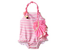 Mud Pie - Flamingo Ruffle Swimsuit (Infant)