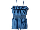 Denim Ruffle Romper (Infant/Toddler)