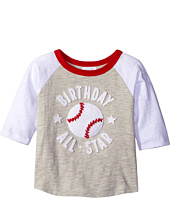 Mud Pie - 2nd Birthday All-Star Raglan T-Shirt (Toddler)