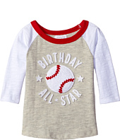 Mud Pie - 1st Birthday All-Star Raglan T-Shirt (Infant)