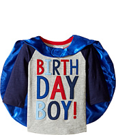 Mud Pie - 2 Birthday Boy Cape T-Shirt (Toddler)