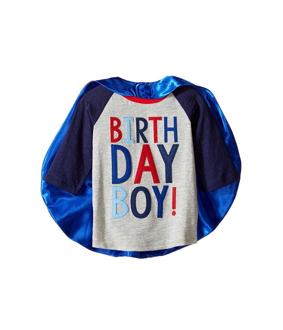 Mud Pie - 3 Birthday Boy Cape T