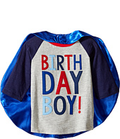 Mud Pie - 3 Birthday Boy Cape T-Shirt (Toddler)