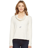 Splendid - Confetti Active Funnel Neck Twist Top