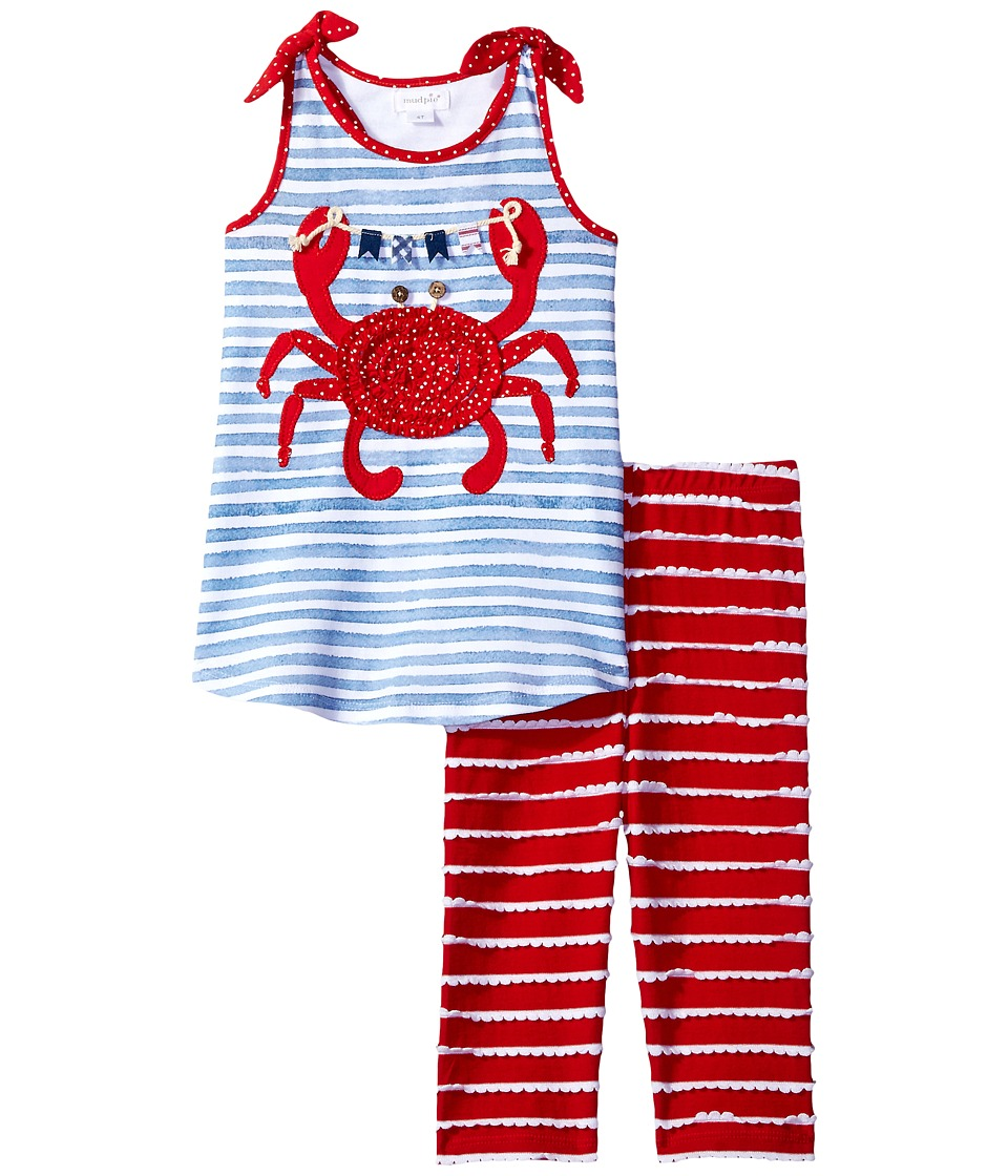 Mud Pie - Crab Tunic Capris Set