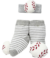Mud Pie - Baseball Wrist Rattle Sock Set (Infant)