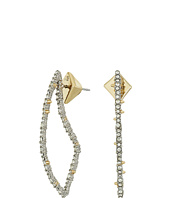 Alexis Bittar - Crystal Encrusted Abstract Thorn Post Earrings