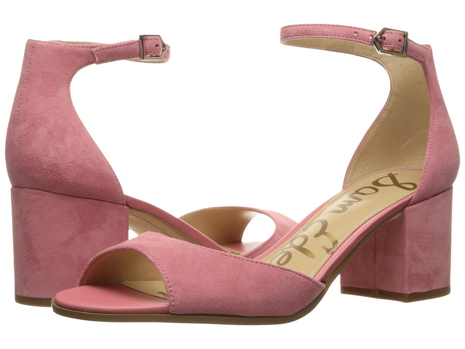 Sam Edelman - Susie (Sugar Pink Kid Suede Leather) Womens Shoes