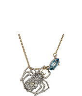 Alexis Bittar - Crystal Encrusted Suspended Spider Pendant Necklace