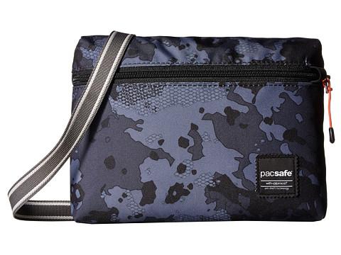 Pacsafe Slingsafe LX50 Anti-Theft Mini Crossbody Bag - Grey Camo