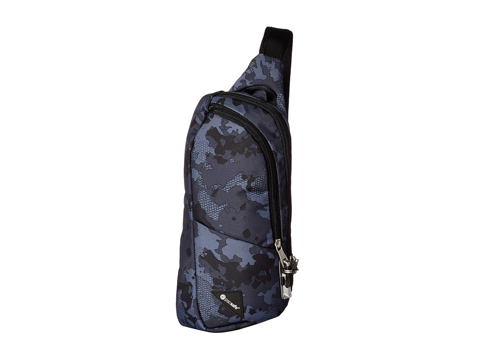 Pacsafe - Vibe 150 Anti-Theft Crossbody Pack (Grey Camo) Cross Body Handbags