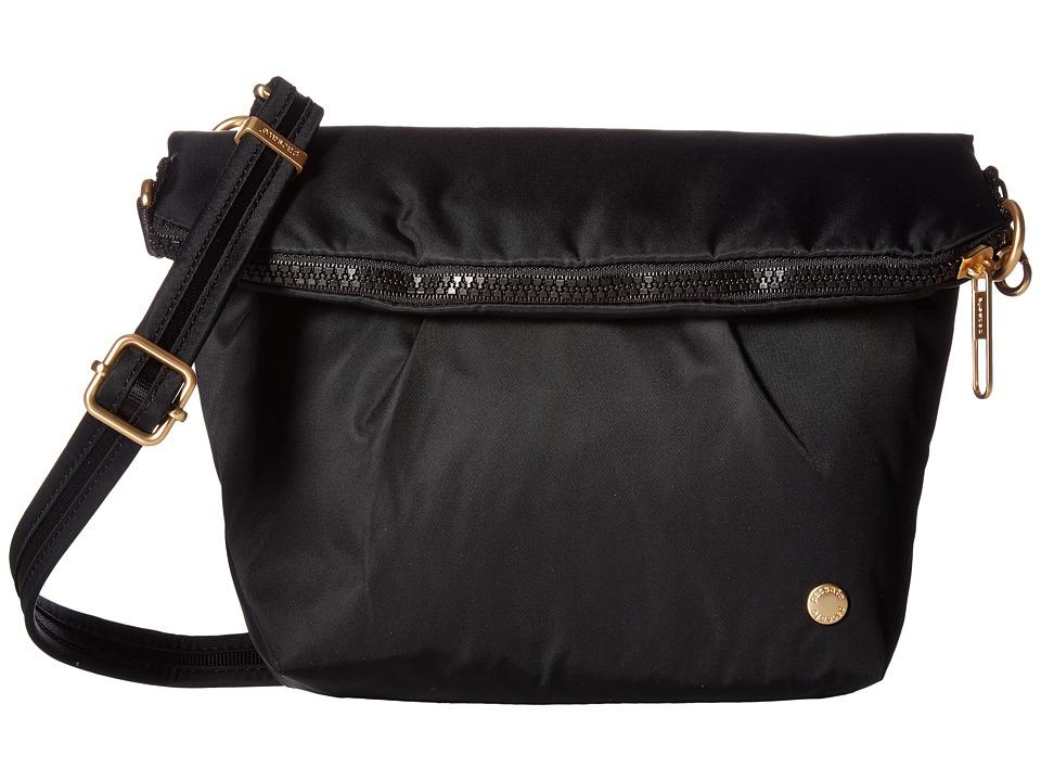 Pacsafe - Citysafe CX Anti-Theft Convertible Crossbody (Black) Cross Body Handbags