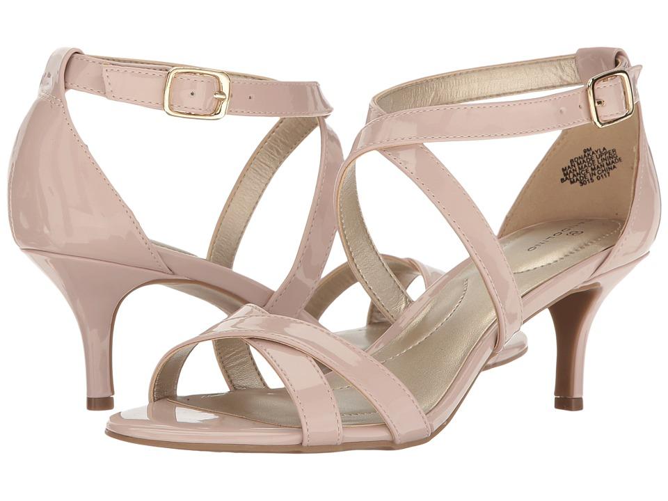 Bandolino Nakayla (Dusty Pink Super Soft Patent Synthetic) Women