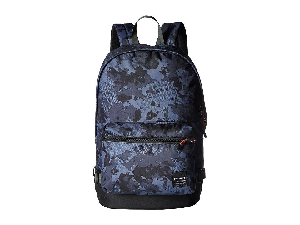 Pacsafe Slingsafe LX400 Anti-Theft Backpack (Grey Camo) B...