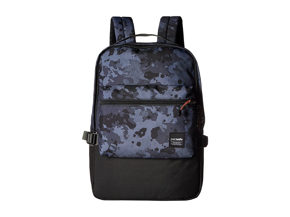 Pacsafe - Slingsafe LX350 Anti-Theft Compact Backpack (Grey Camo) Backpack Bags