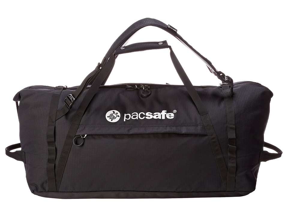 Pacsafe Duffelsafe AT80 Anti-Theft Adventure Duffel (Black) Duffel Bags