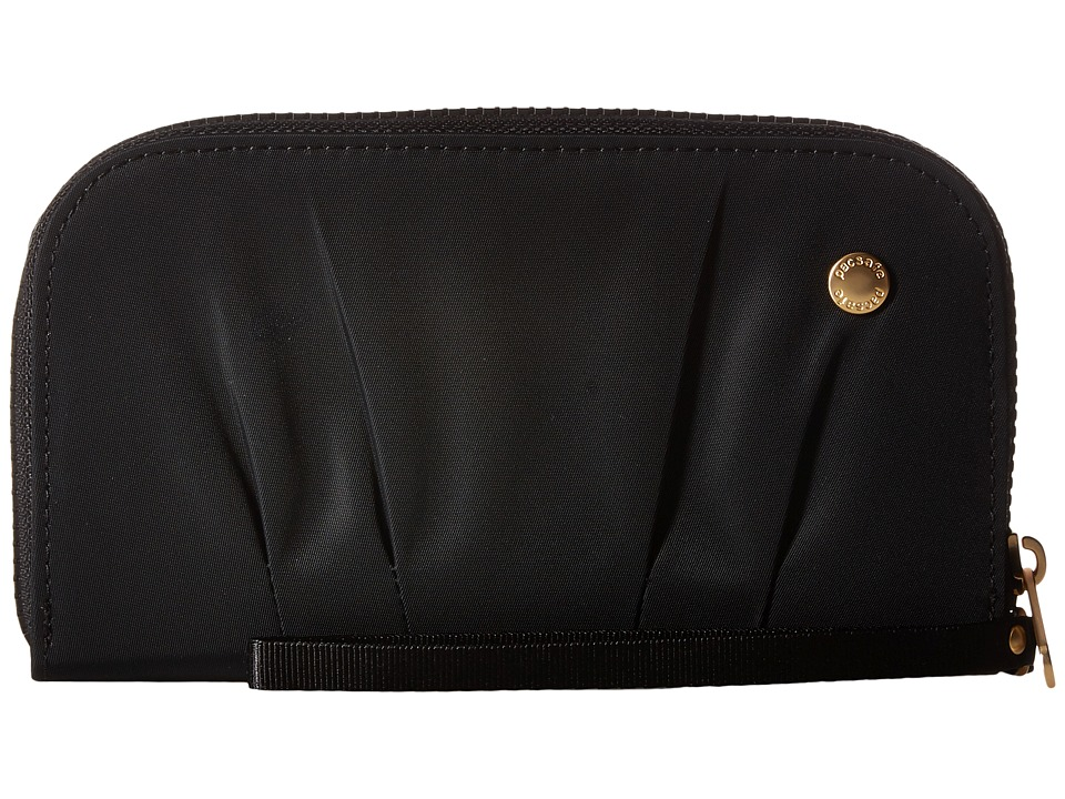 Pacsafe - Citysafe CX RFID Wristlet Wallet (Black) Wallet Handbags