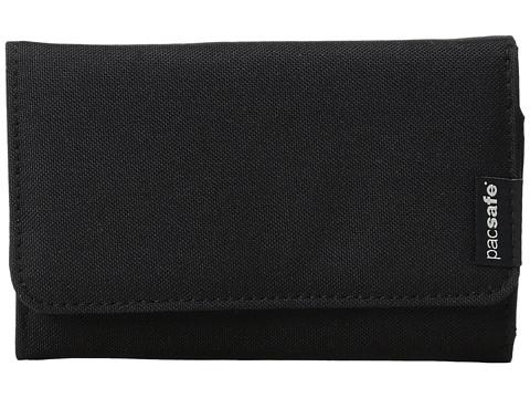 Pacsafe RFIDsafe LX100 RFID Blocking Wallet - Black