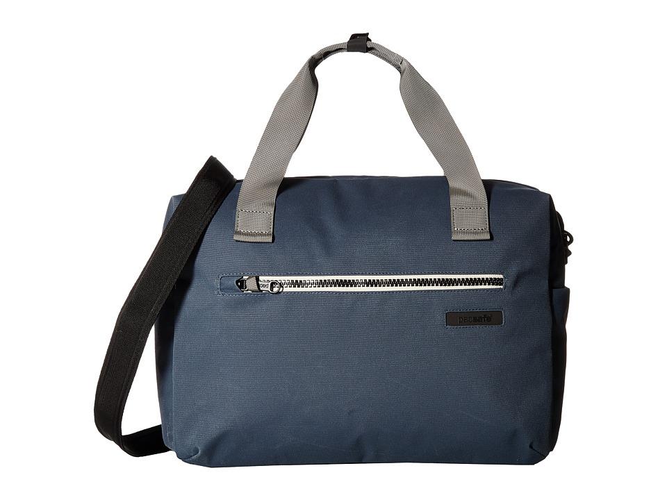 Pacsafe - Instasafe Brief Anti-Theft 15 Shoulder Bag (Navy) Computer Bags -  adult