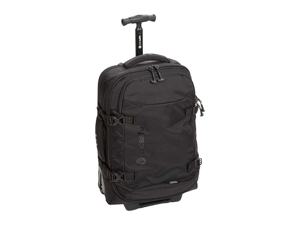 Pacsafe Toursafe AT21 Anti-Theft Wheeled Carry On (Black) Carry on Luggage