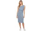 Tri-blend Jersey Pleat Dress