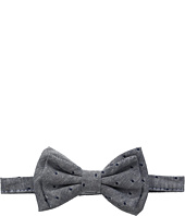 Mud Pie - Chambray Dot Boxed Bow Tie