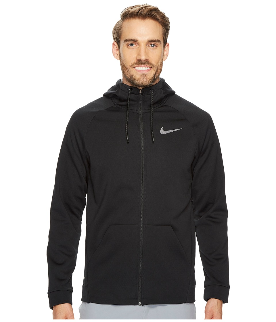 Nike Therma Sphere Full-Zip Training Jacket (Black/Cool Grey/Metallic Hematite) Men