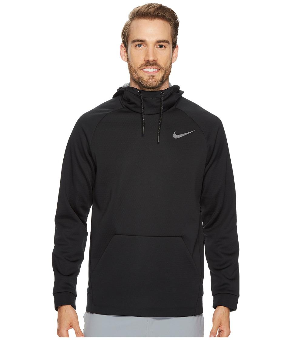 Nike Therma Sphere Pullover Training Hoodie (Black/Cool Grey/Metallic Hematite) Men
